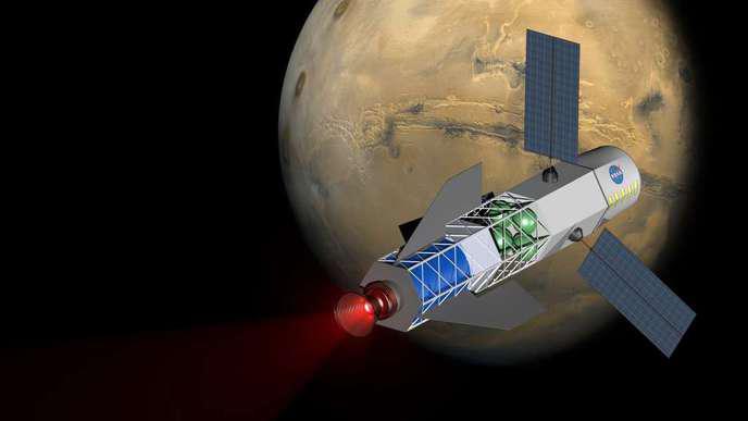 Voyage vers Mars