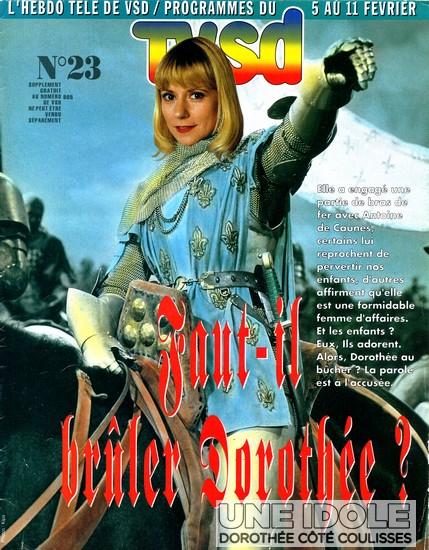Magazine VSD - Une Dorothée