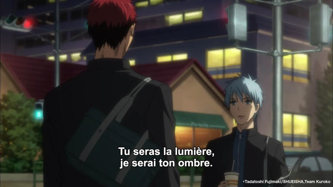 Exemple traduction : Kurono no Basket