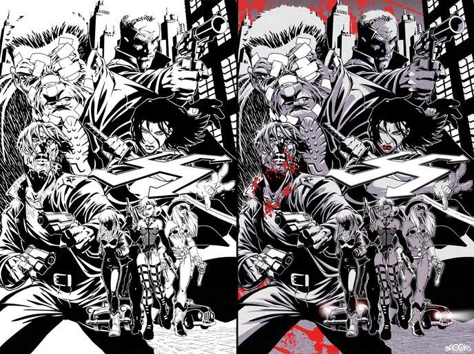 Sin City comics