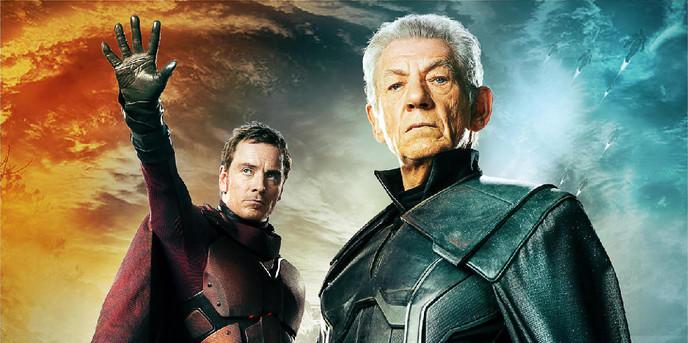 Magneto Fassbender/McKellen