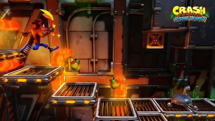 Image du jeu crash bandicoot N'sane Trilogy