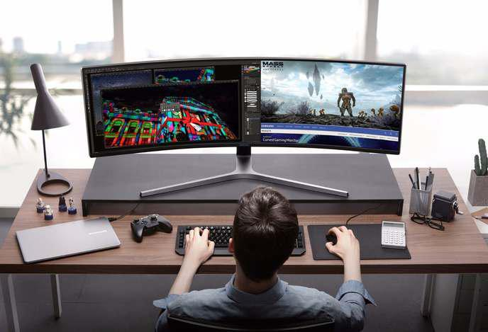 Samsung dévoile un écran 32:9 pour les gamers