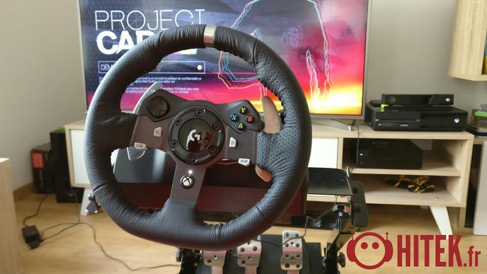 test logitech g920 un volant de simulation haut de gamme. Black Bedroom Furniture Sets. Home Design Ideas