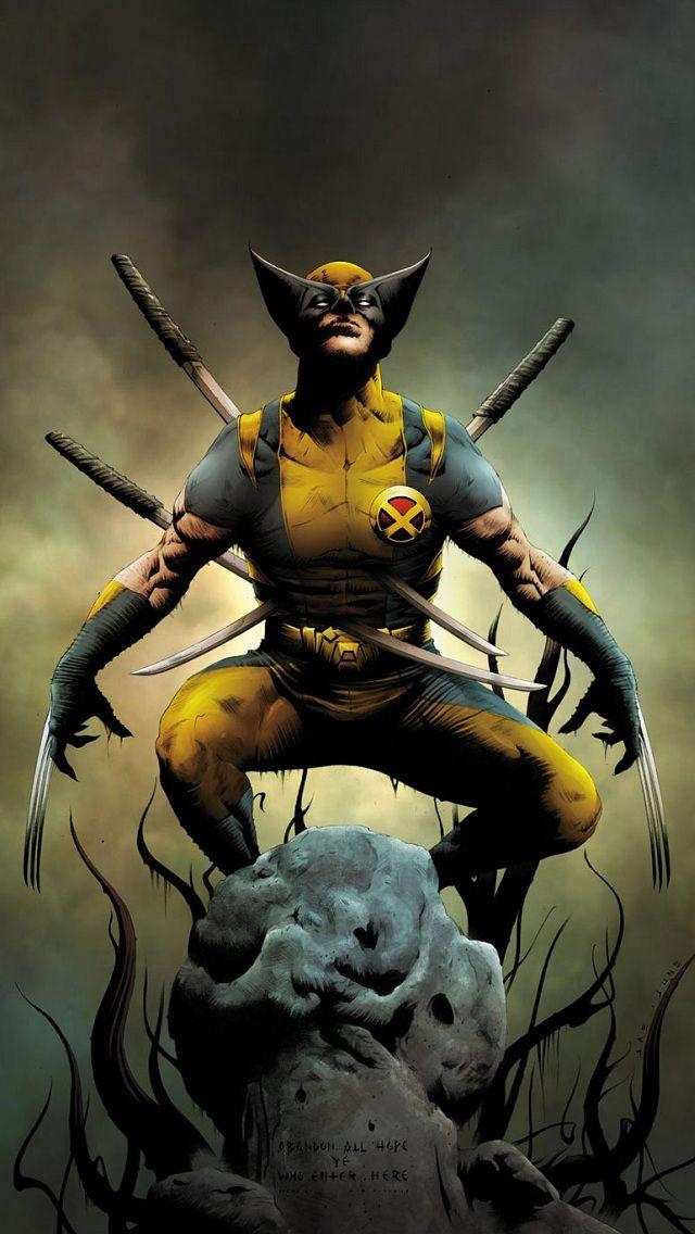 Des Fonds Décran Wolverine Pour Vos Smartphones Et Pc