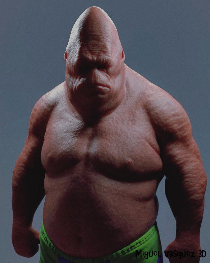 bob 3d humain