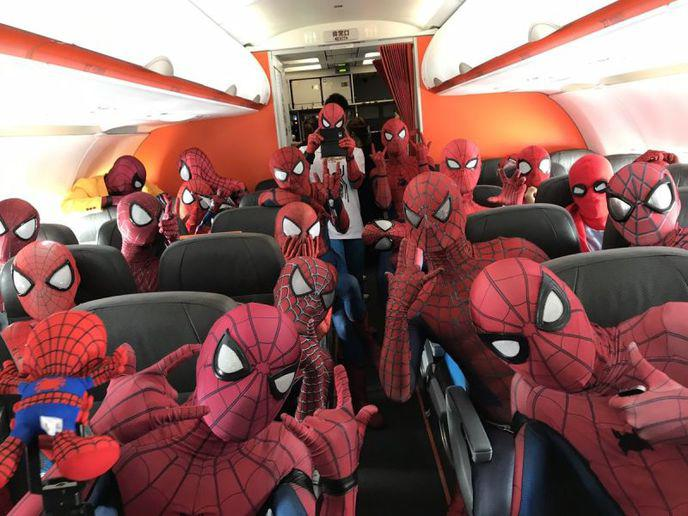 avion spider man