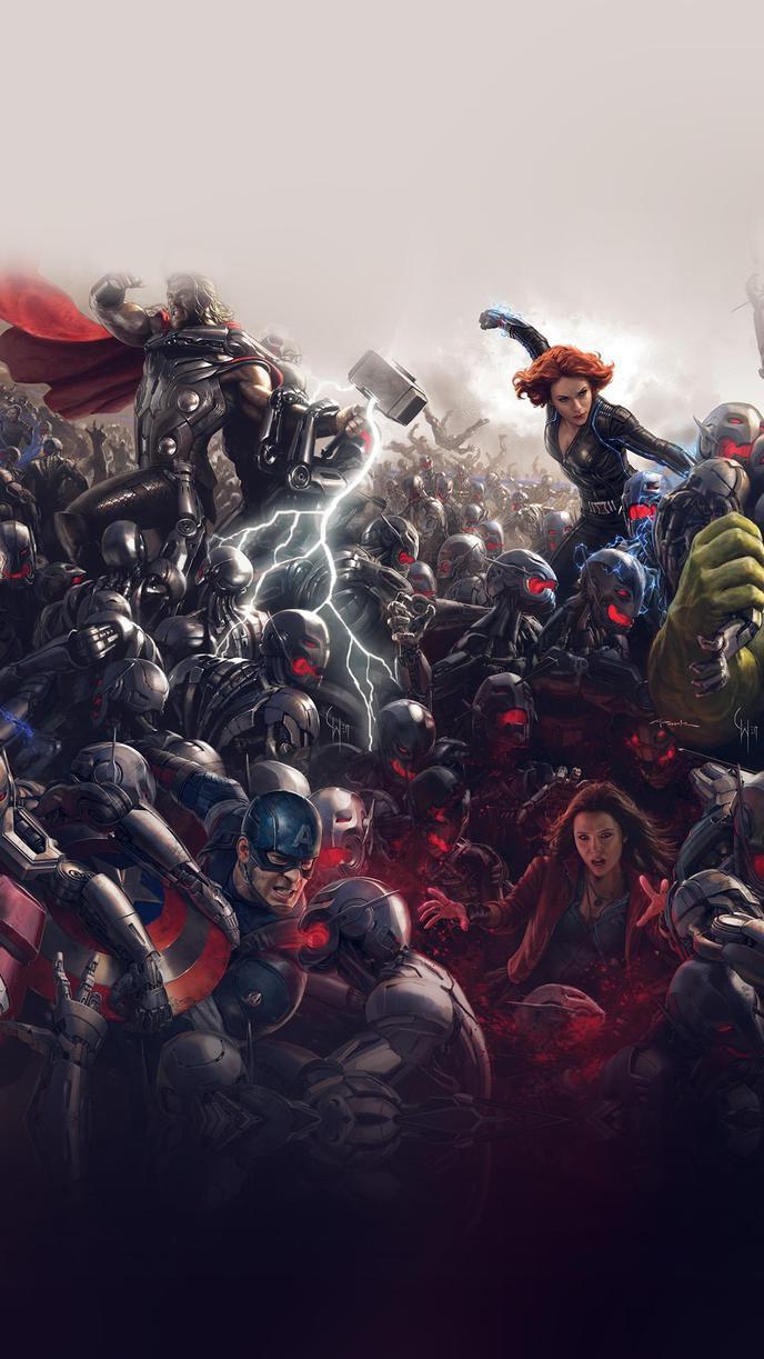Des fonds d'écran Avengers pour vos PC et smartphones !