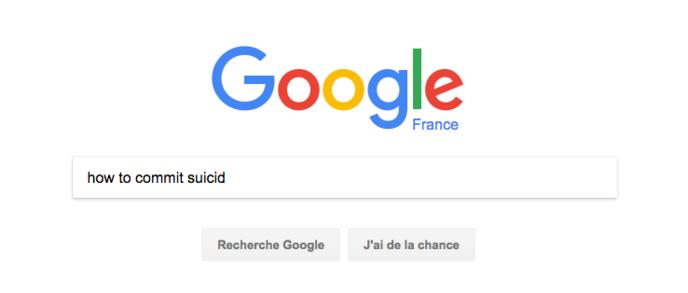 suicide google