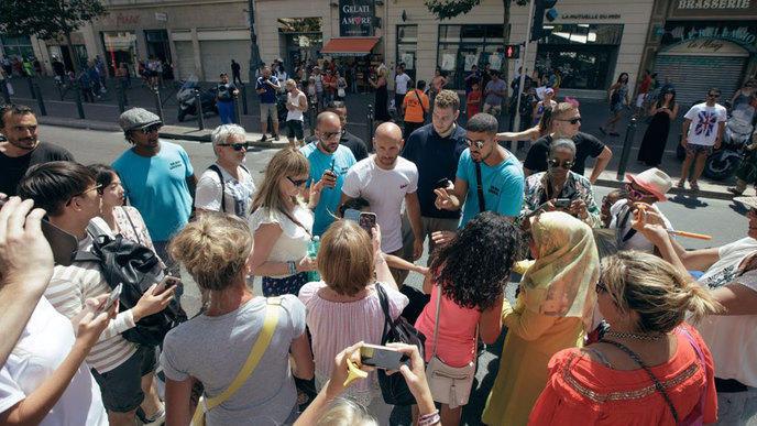 Tournage du film Taxi 5 : Franck Gastambide a une surprise