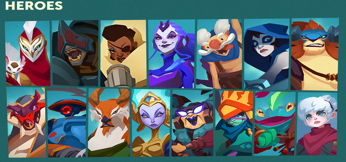 gigantic characters