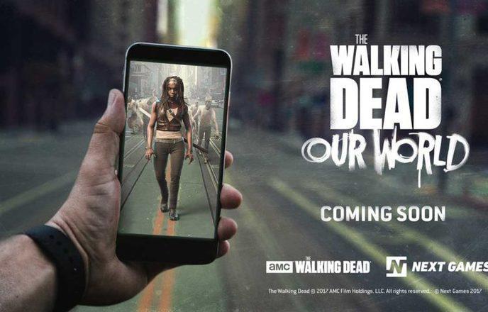 Bientôt un jeu mobile The Walking Dead aux airs de Pokémon Go ?
