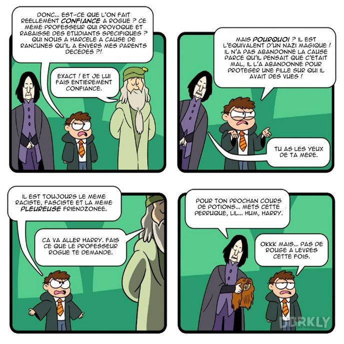 professeur rogue harry potter