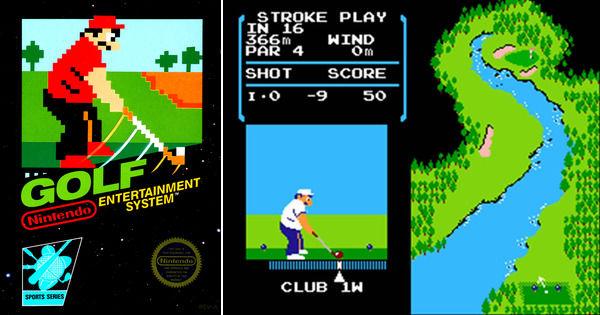 Le jeu se cache dans la Nintendo Switch — NES Golf