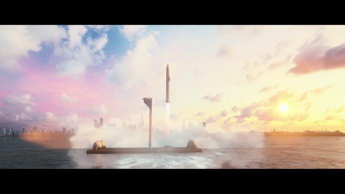 Musk veut remplacer les avions par des fusées