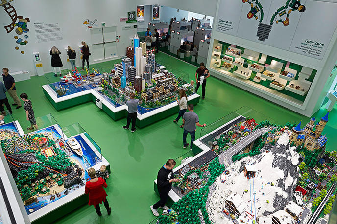 big lego house