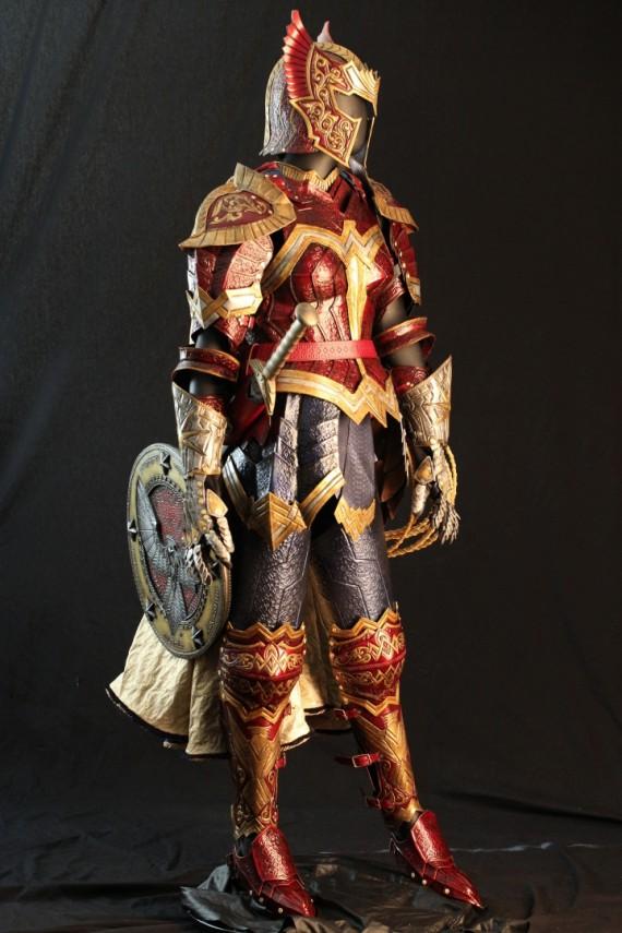 armure médiévale wonder woman