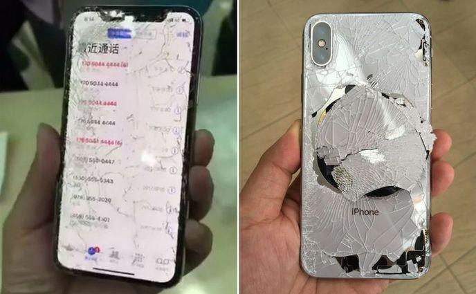 IPhone X se brise face aux tests de fragilité de SquareTrade