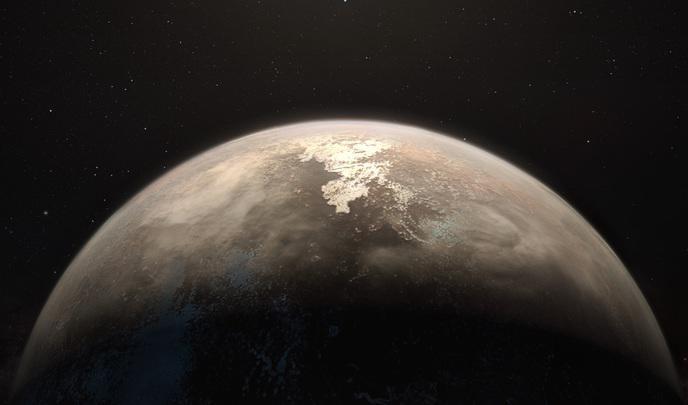 Espace : découverte d'une planète susceptible d'héberger des signes de vie