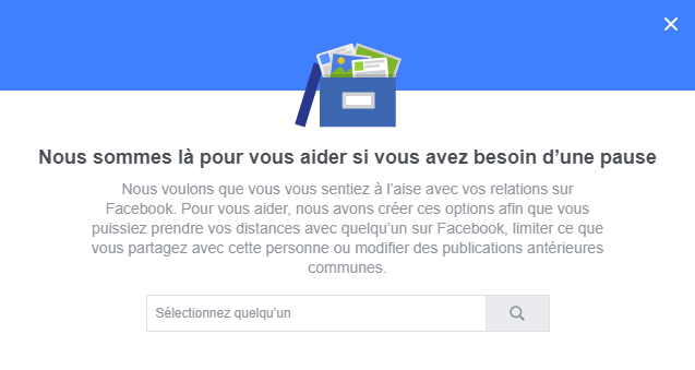 Facebook : Une nouvelle option