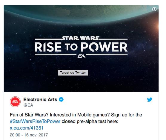 EA plie face à la polémique sur Star Wars Battlefront II