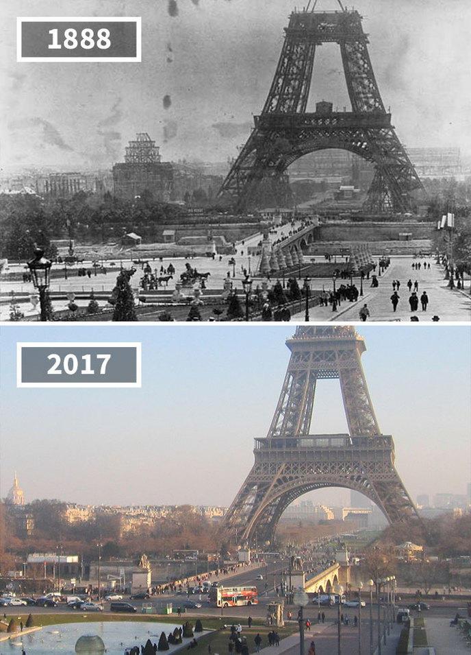 avant/apres photos monde temps 24