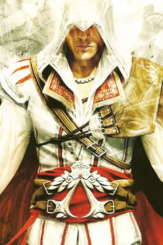 fond ecran smartphone assassins creed 3