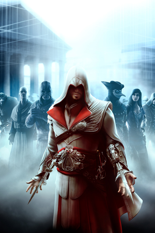 fond ecran smartphone assassins creed 8
