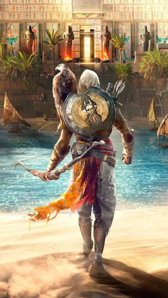 fond ecran smartphone assassins creed 10