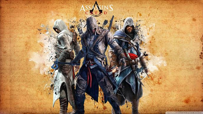 fond ecran pc assassins creed 1