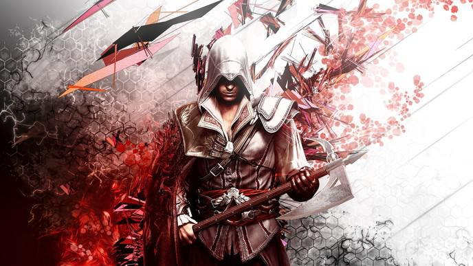 fond ecran pc assassins creed 9