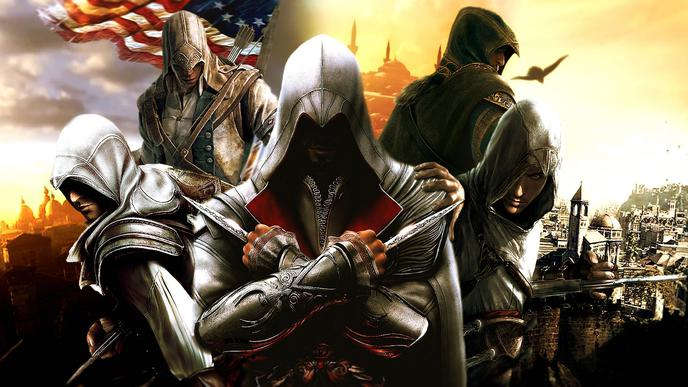 fond ecran pc assassins creed 21