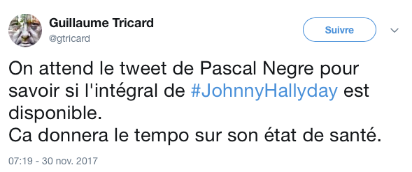 tweet mort johnny 18