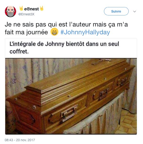 tweet mort johnny 9