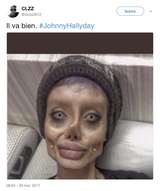 tweet mort johnny 5