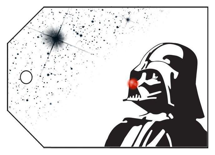 carte de voeux star wars 11