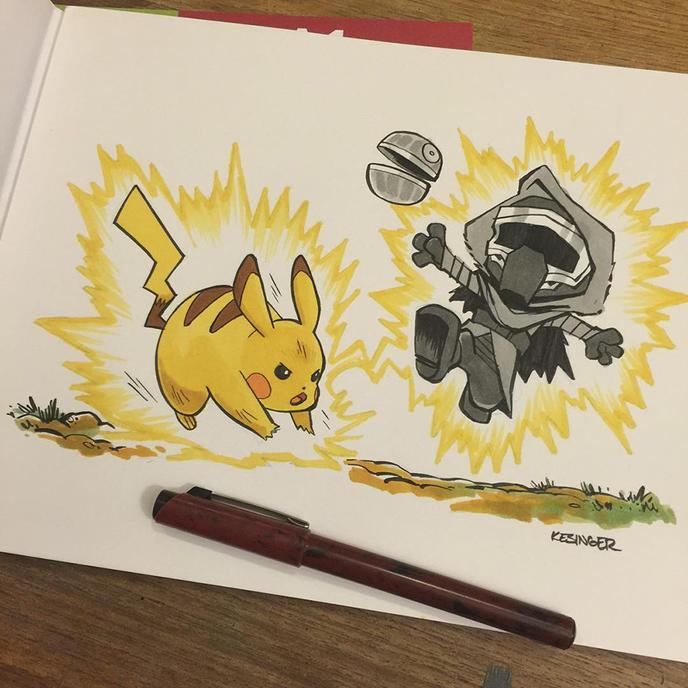 Calvin et hobbes star wars 3