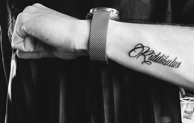 tattoo Harry Potter