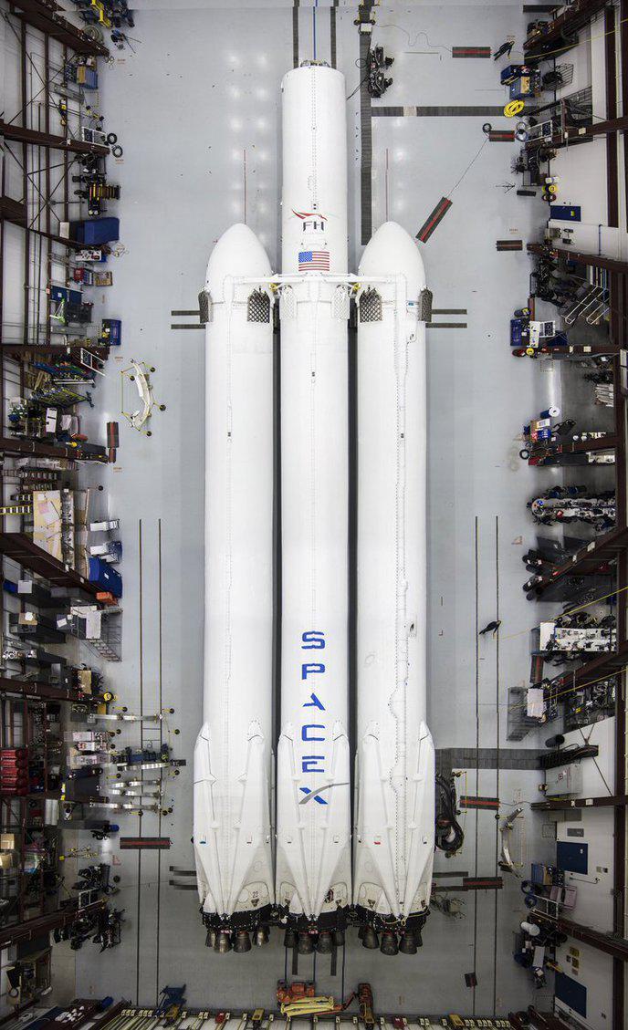 falcon heavy space X