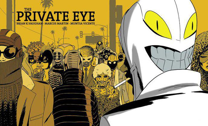 The Private Eye – Brian K. Vaughan