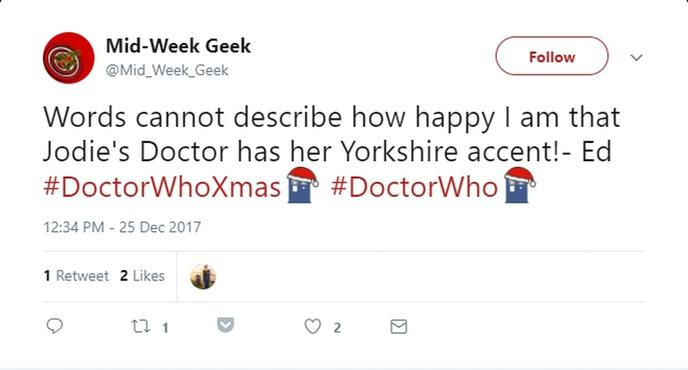reaction twitter fan doctor who 1