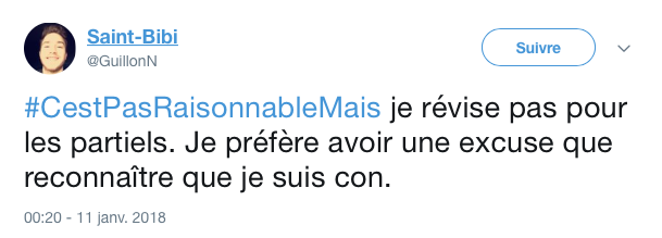 top tweet pas resonnable mais 8