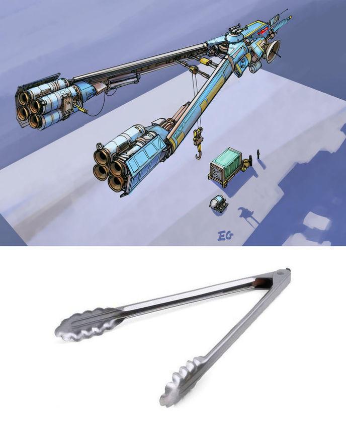 vaisseaux spatiaux objets quotidien 4