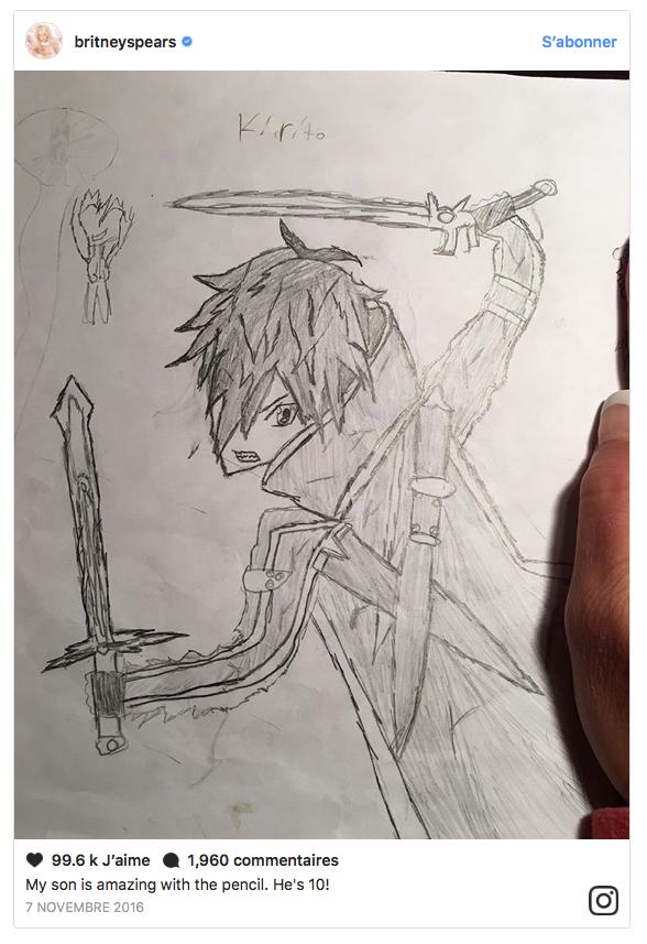 dessins enfants briteny spears 7