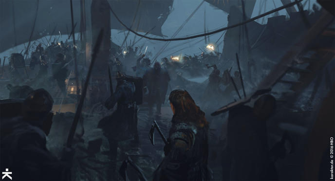artwork game of thrones saison 7 6