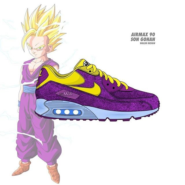 chaussure dragon ball nike