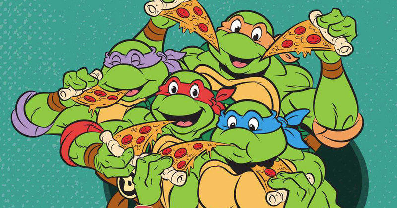 Peta souhaite que les pizzas des tortues ninja soient v ganes - Tortues ninja pizza ...