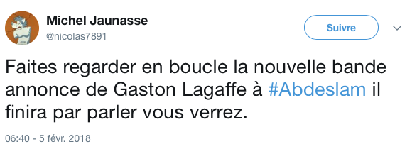 Top tweets gaston lagaffe 5