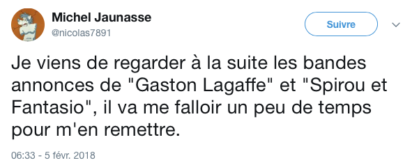 Top tweets gaston lagaffe 4