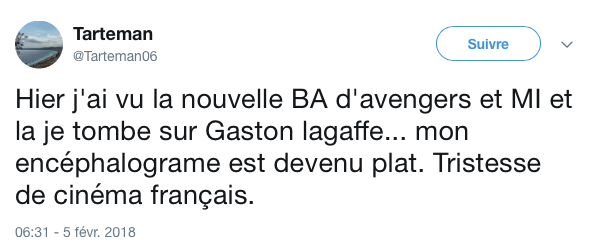 Top tweets gaston lagaffe 3